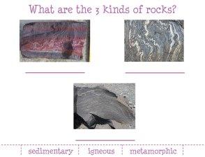 3 Kinds of Rock.blog