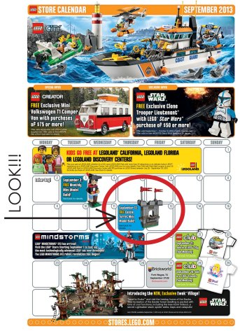 Suzanne Shares Free Castle Mini Model Build At The Lego Store Sept